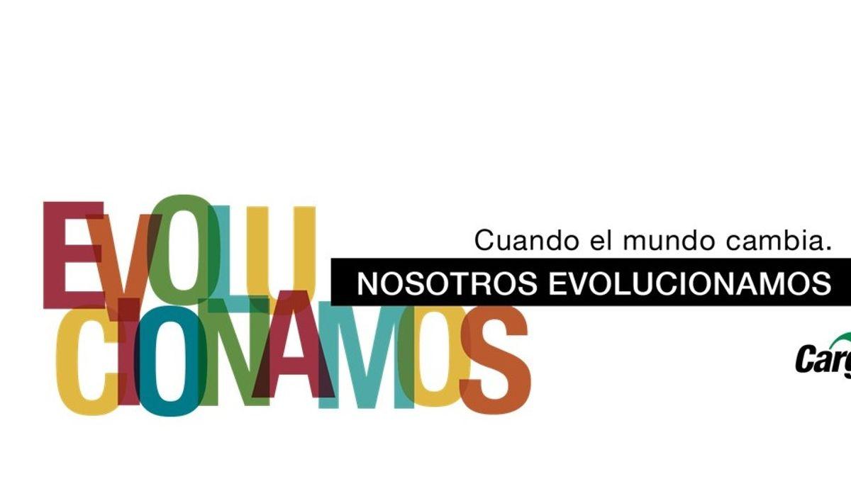 Cuando el mundo cambia, nosotros evolucionamos