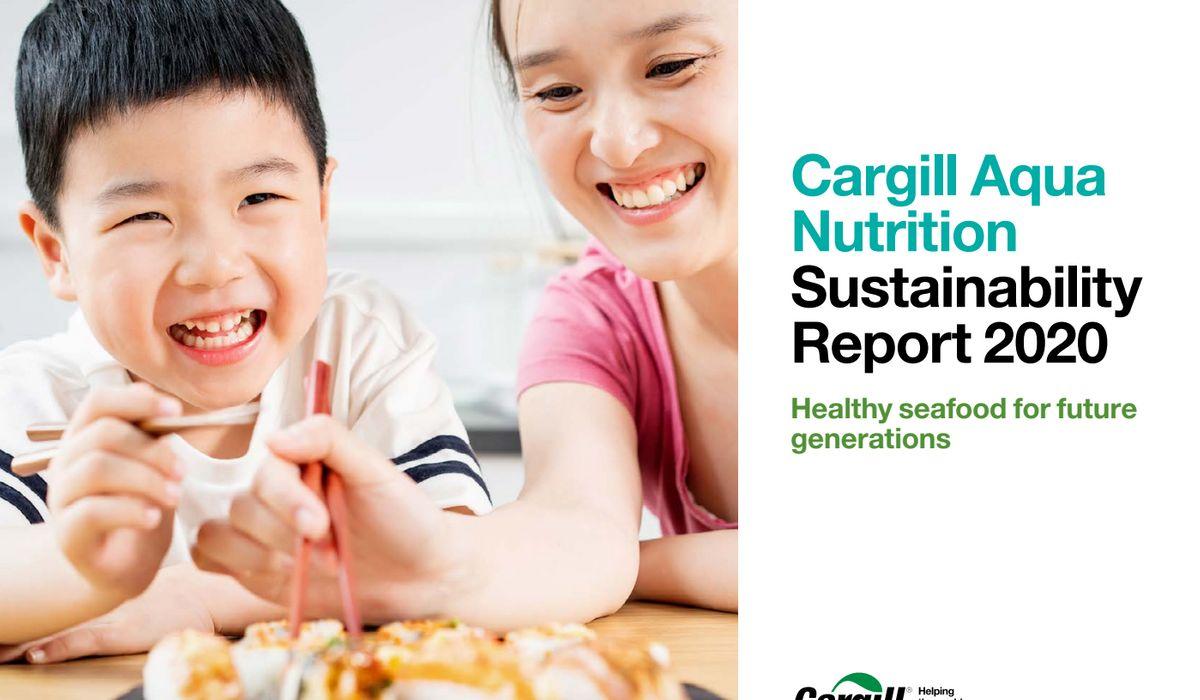 Cargill Aqua Nutrition bærekraftsrapport for 2020 er lansert